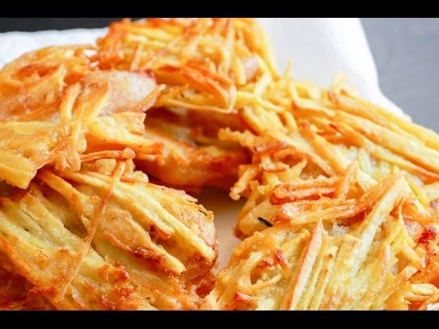 Bánh Chuối / Bánh Khoai Chiên - Crispy Banana w/ Sweet Potato Fritter