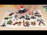Конструктор Знаток Artec Blocks,112 деталей в голубом ведерке