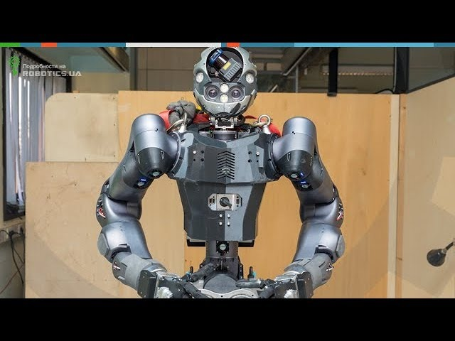 Обновленный андроид WALK-MAN из IIT (Robotics.ua)