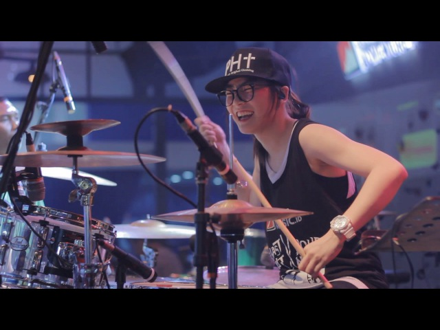 [LIVE] 2017.07.09 羅小白 S.white - Stronger (Kelly Clarkson drum cover)