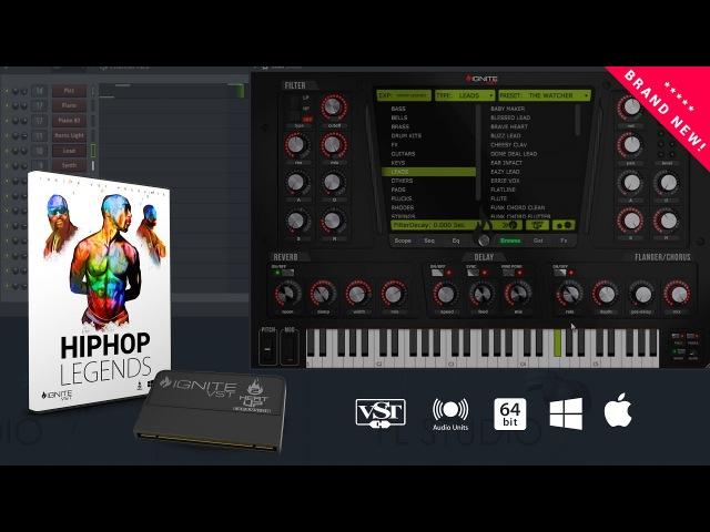 Hiphop Legends VST Expansion HeatUp2 Presentation
