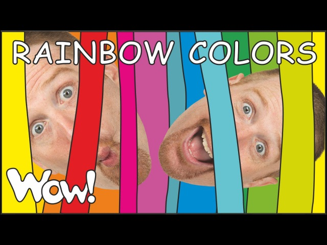 Rainbow Colors Story for Children from Steve and Maggie | Wow English TV