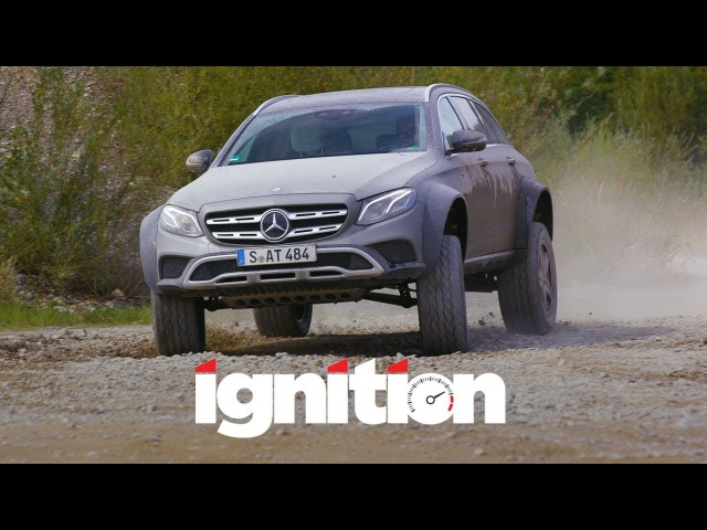 Mercedes-Benz E400 All-Terrain 4x4 Squared Greatest Station Wagon in the World - Ignition Ep. 184