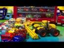 Тачки 3 Игрушки Новый Трактор Мини Тачки Много Машинок Дисней Видео для Детей