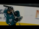 Pavelski hits Burns with sweet pass for OT goal