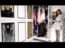 700 square foot closet with fingerprint access and over 300 pairs of shoes