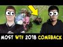 2018 MOST WTF COMEBACK — Fnatic vs Secret