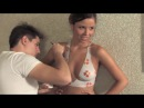 Body Painting. Painted bikini. clip60. part1 (1of3)