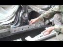 Как заменить и отремонтировать пороги своими руками Renault Laguna 2