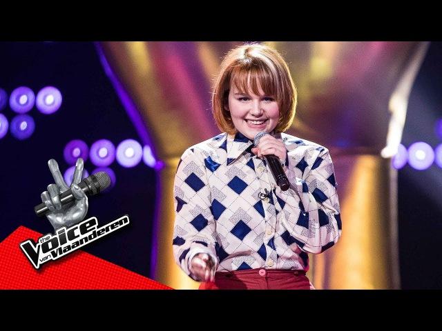 Joséphine zingt 'Soulman'   Blind Audition   The Voice van Vlaanderen   VTM