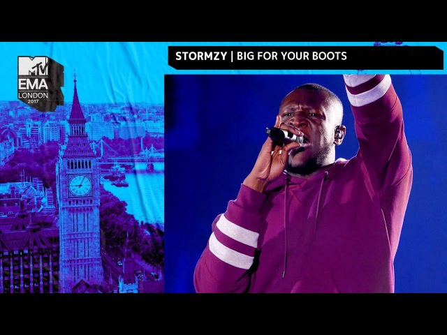 Stormzy Performs 'Big For Your Boots' MTV EMAs 2017 Live Performance MTV Music