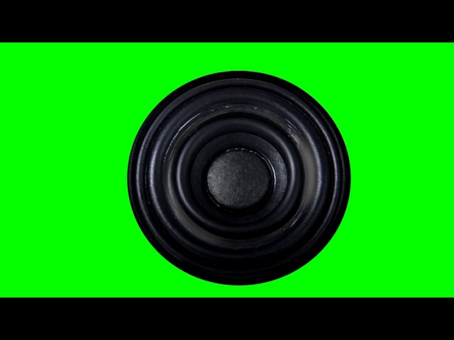 FREE GREEN SCREEN audio speaker ☯ CHROMA KEY ☯ ФУТАЖ ХРОМАКЕЙ аудио динамик ☛ yda4aTV