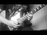 Hammerfall - Glory To The Brave Instrumental(Guitar Cover)