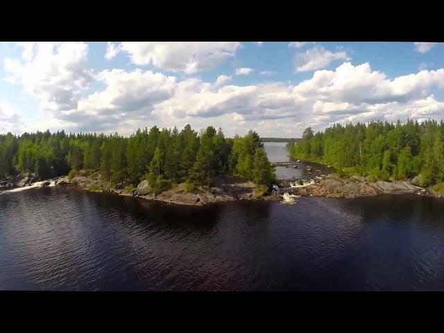 Национальный парк Калевальский с высоты птичьего полета