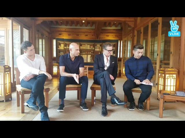킹스맨 골든서클 콜린 퍼스,태런 에저튼, 마크스트롱 인터뷰 (Kingsman The Golden Circle Interview with Colin Firt