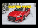 QUATTRO AUDI POWER vs SNOW