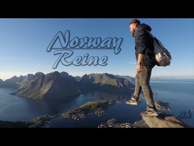 Norway, Lofoten islands, Reine (GoPro5) HD