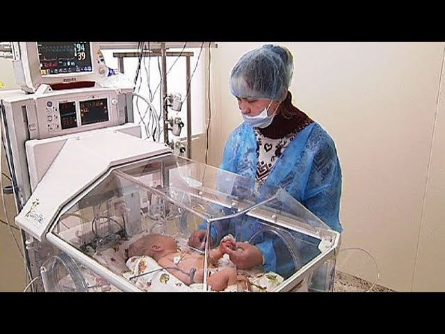 Подмосковные врачи применяют уникальную криоустановку для лечения младенцев с ...