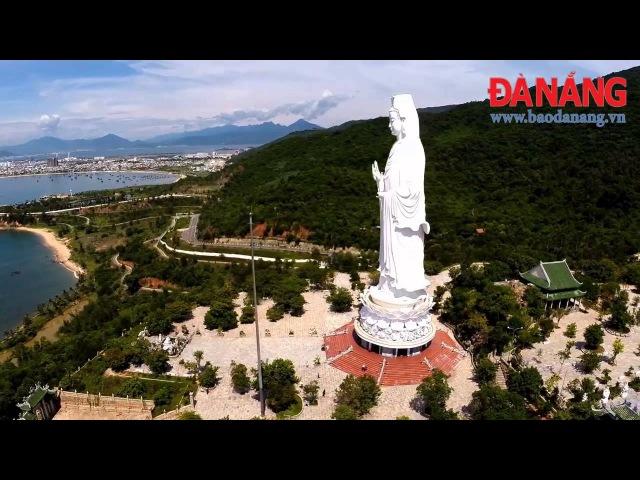 Toàn cảnh chùa Linh Ứng Đà Nẵng nhìn từ trên cao