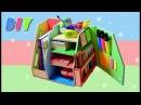 DIY Настольный органайзер своими руками Организация рабочего стола to school