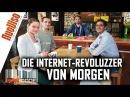 Die Internet-Revoluzzer von morgen - BarCode mit Dennis Hack, Alexander Friedland Julia Szarvasy