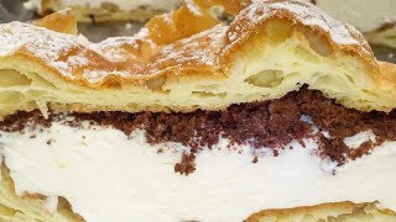 Польский пирог-тортКарпатка просто наслаждение!