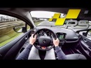 Renault Clio RS Trophy POV AutoBahn TOP SPEED
