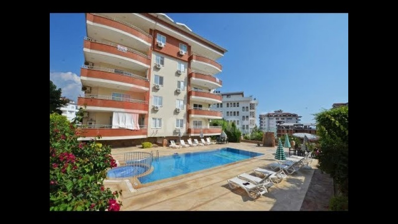 Alanya Penthouse Komplett Möbliert Mit Meerblick und Pool für 75000 Euro