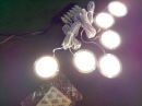 SHINE HAI LED Under Cabinet Lighting Kit 1140 Lumens LED Puck Light 3000K Warm White All Accessor