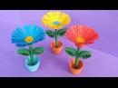 DIY: Quilling Miniature 3D Flower Pot How to Make 3D Flower Pot With Paper
