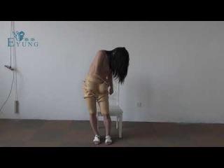 EYUNG vagina Bodysuit for Crossdresser Zentai suit for Europeans size breast forms