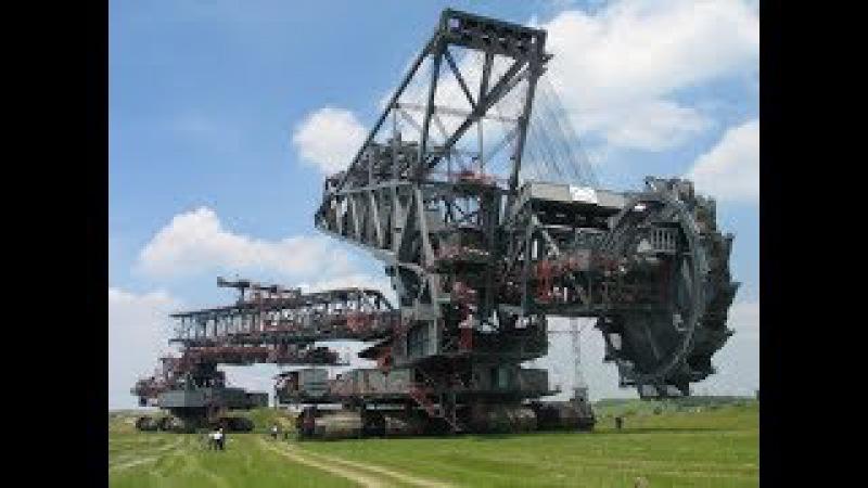 Bagger 293 - самый большой роторный экскаватор в мире производства немецкой компании...