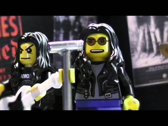 Lego Ramones - R.A.M.O.N.E.S.