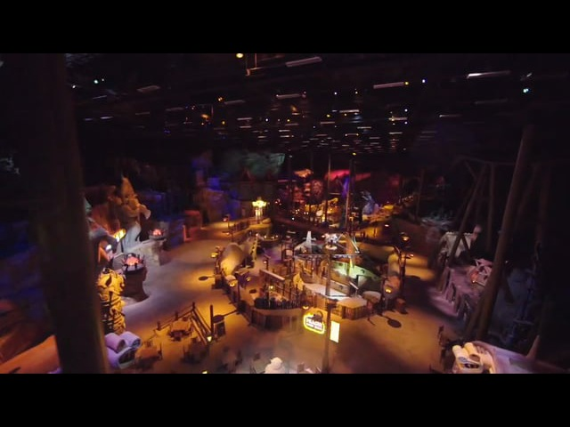 How To Train Your Dragon's Dragon Gliders Ride at Motiongate, Dubai