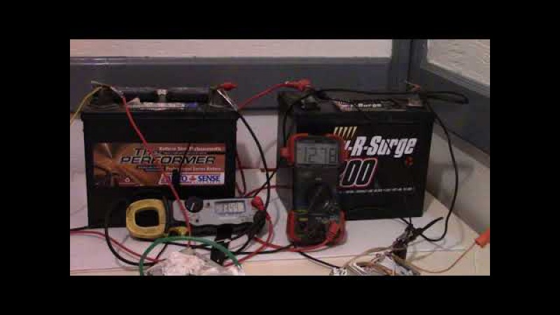 How to charge different batteries in series while keeping the batteries separate