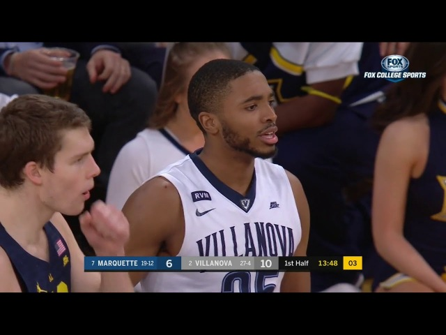 Marquette vs Villanova Basketball 2018 Big East Championship Quarterfinal
