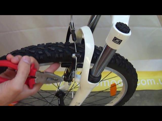 Настройка ободного тормоза велосипеда системы V brake