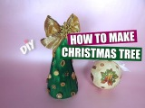 DIY: How to Make a Ribbon Christmas Tree | Christmas Crafts