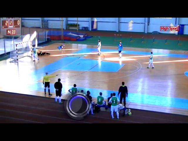 Highlights Вища Ліга АФС Сервіс Люкс 2-2 Nicmas   8.01.2018   HighSportLive