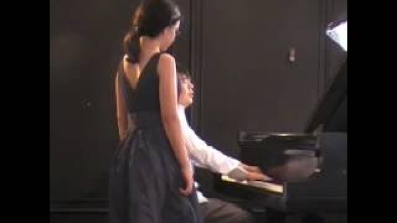 Jess plays Clair de Lune Master Class with Lang Lang