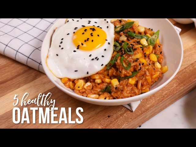 5 NEW Healthy Oatmeal Recipes