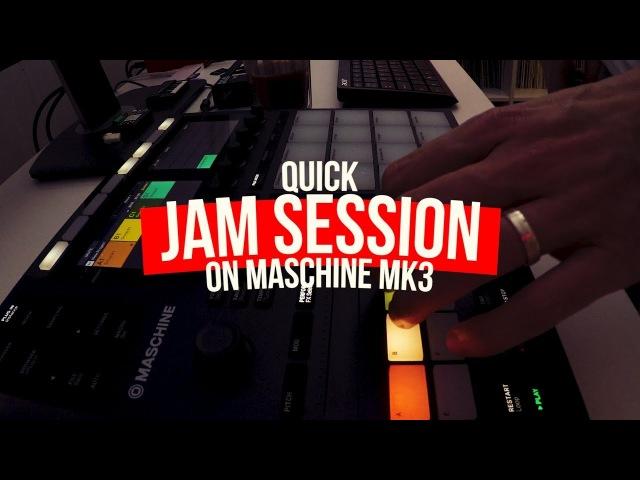 Maschine MK3 - LIVE Jam Session Jazz Hip Hop Beat