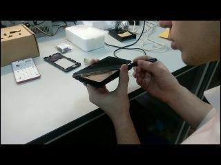 Замена дисплейного модуля смартфона