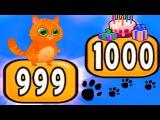 КОТЕНОК БУБУ #60 - Говорящие котики - игровой мультик для малышей видео для детей  #УШАСТИК KIDS