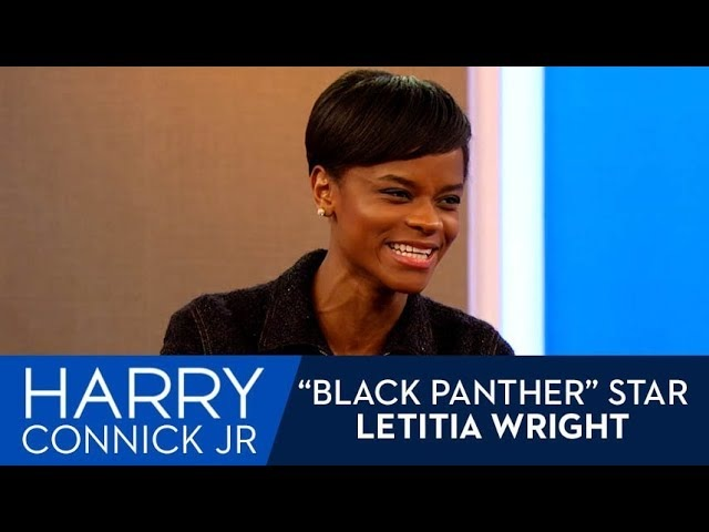 Letitia Wright's Mom LOVES the Black Panther Trailer
