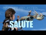Heather and Astrid- Salute