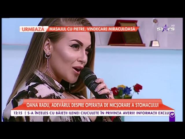 Oana Radu, reacţie surprinzătoare! S-a oprit în mijlocul interviului ca să-şi arate DEFECTUL