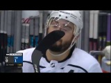 GOTTA SEE IT: DOUGHTY OKAY AFTER TAKING MARLEAU'S SKATE BLADE TO FACE