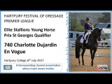 HARTPURY FESTIVAL OF DRESSAGE Charlotte Dujardin En Vogue