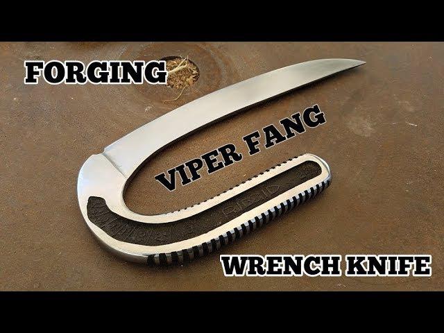 Forging The Viper Fang Knife